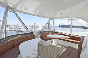 50' Naval Yachts 50 Yacht Cat 2011 Flybridge Seating
