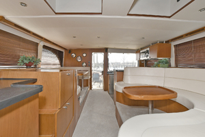 50' Naval Yachts 50 Yacht Cat 2011 Aft Salon View
