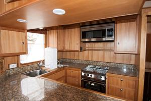 49' DeFever 49 Pilothouse 2018 Galley