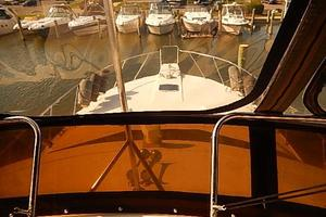 46' Silverton Motor Yacht 1990 Bow view from bridge