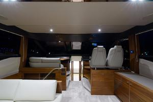 68' Princess Flybridge 68 Motoryacht 2015 Main Salon