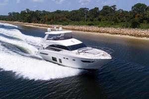 68' Princess Flybridge 68 Motoryacht 2015 Starboard Running