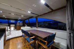 68' Princess Flybridge 68 Motoryacht 2015 Main Salon Dining