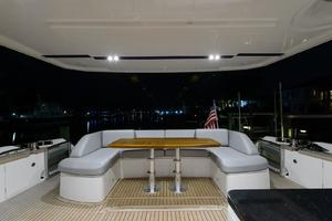 68' Princess Flybridge 68 Motoryacht 2015 Aft Deck