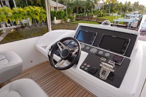 68' Princess Flybridge 68 Motoryacht 2015 Upper Helm