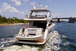 68' Princess Flybridge 68 Motoryacht 2015 Stern