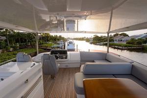 68' Princess Flybridge 68 Motoryacht 2015 UpperDeck