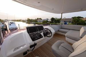 68' Princess Flybridge 68 Motoryacht 2015 Upper Helm