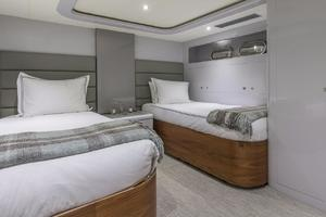 110' Horizon  2000 Twin Guest Stateroom 2