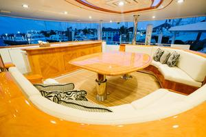 150' Richmond Yachts Tri-deck Motor Yacht 2010 MAIN AFT DECK SITTING