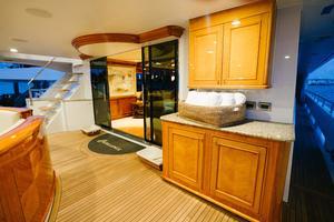 150' Richmond Yachts Tri-Deck Motor Yacht 2010 MAIN AFT DECK