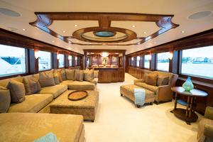 150' Richmond Yachts Tri-deck Motor Yacht 2010 MAIN SALON