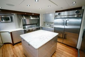 150' Richmond Yachts Tri-deck Motor Yacht 2010 GALLEY