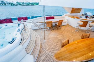 150' Richmond Yachts Tri-deck Motor Yacht 2010 FLYBRIDGE JACUZZI