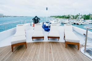 150' Richmond Yachts Tri-deck Motor Yacht 2010 FLYBRIDGE LOUNGE