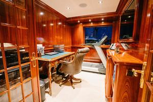 150' Richmond Yachts Tri-deck Motor Yacht 2010 SKYLOUNGE OFFICE