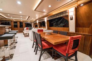 92' Viking Enclosed Bridge 2015