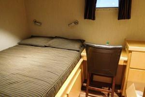 100' Broward Raised Pilothouse 2000 Captain's Cabin