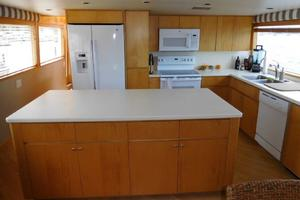 100' Broward Raised Pilothouse 2000 Galley