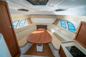 47' Intrepid 475 Sport Yacht 2014 Dinette/Full Berth Forward