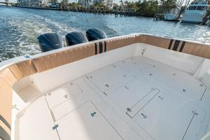 47' Intrepid 475 Sport Yacht 2014 Cockpit Aft