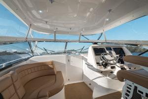 47' Intrepid 475 Sport Yacht 2014 Helm Deck Looking Forward