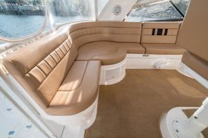 47' Intrepid 475 Sport Yacht 2014 L-Shaped Seating to Port