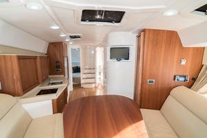 47' Intrepid 475 Sport Yacht 2014 Cabin Looking AFt