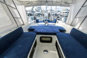 62' Deerfoot 2-62' 1987 Deerfoot 62' - pilot house aft view