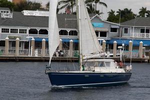 62' Deerfoot 2-62' 1987 Deerfoot 62' - sailing