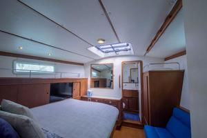 62' Deerfoot 2-62' 1987 Deerfoot 62' - master forward view