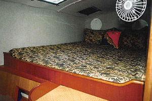 65' Woodwind Kurt Hughes Custom Ca  1999 Cabin2