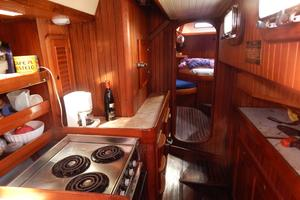 52' Hans Christian Christina 52 1992 Galley-3