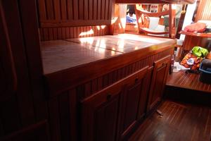 52' Hans Christian Christina 52 1992 Galley counter space