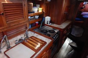52' Hans Christian Christina 52 1992 Galley-2