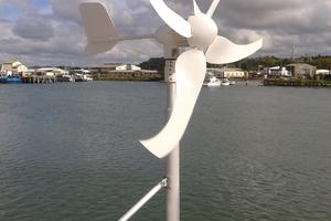 62' Sunreef 62 2006 Wind Generator