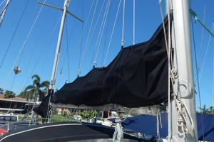 46' Morgan 462 1981 main sail - w/stack pack system