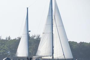 53' Amel Super Maramu 1995 Under sail