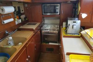 53' Amel Super Maramu 1995 Galley