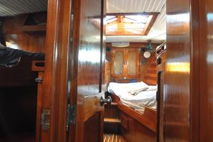 60' Maple Leaf 60 1983 Companionway forward