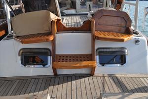 60' Maple Leaf 60 1983 Aft seating
