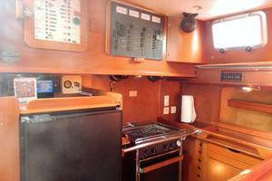 53' Amel Mango 1982 Galley-2