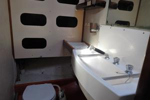 53' Amel Mango 1982 Forward Head -Shower