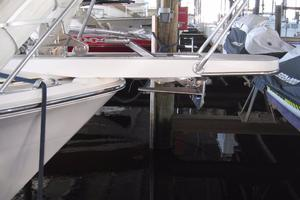 60' Bertram Convertible 1995 Anchor and Bow Pulpit