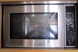 60' Bertram Convertible 1995 Galley Microwave