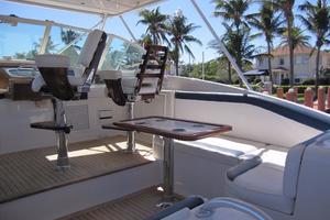 52' Buddy Davis Express 2002 Helm Deck Starboard