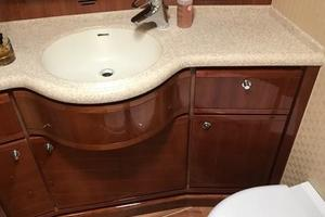 63' Bertram Convertible 2007 Port Stateroom Ensuite Head