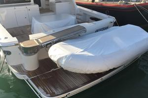 63' Bertram Convertible 2007 Stern Swim Platform and Tender