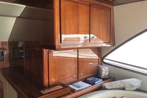 63' Bertram Convertible 2007 Galley Storage
