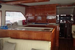 63' Bertram Convertible 2007 Galley